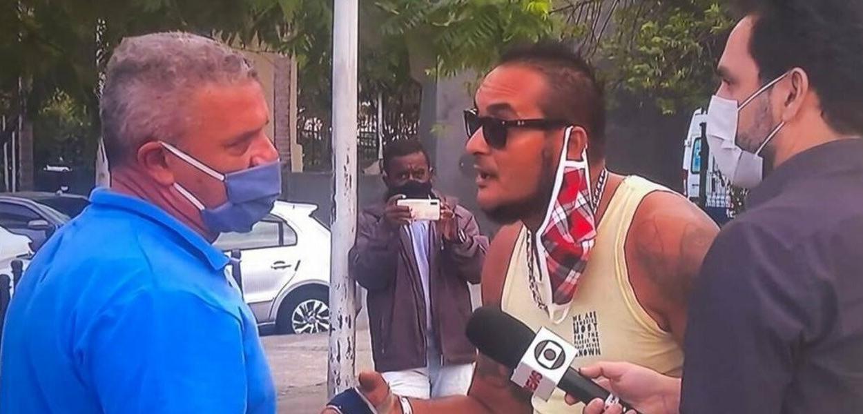 Guardiões de Crivella e repórter da Globo
