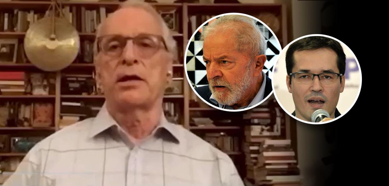 Jorge Pontual, Lula e Deltan Dallagnol
