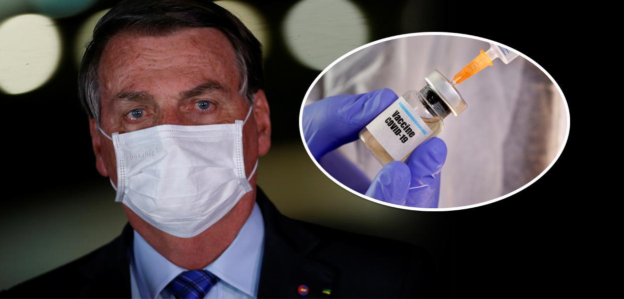 Bolsonaro e vacina