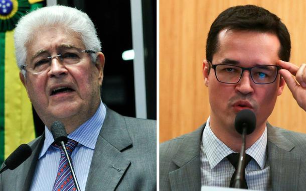 Roberto Requião e Deltan Dallagnol