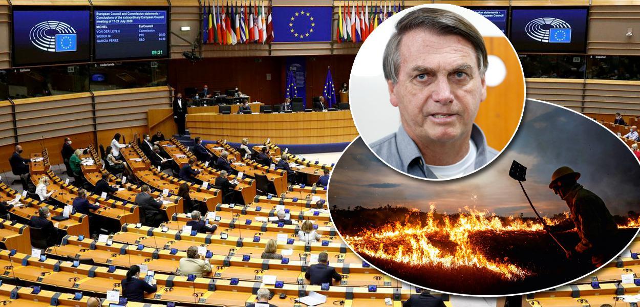 Parlamento Europeu / Jair Bolsonaro / Amazônia