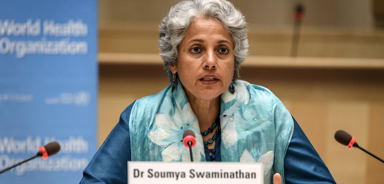 Cientista-chefe da OMS, Soumya Swaminathan 03/07/2020