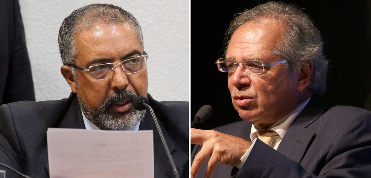 Paulo Paim e Paulo Guedes