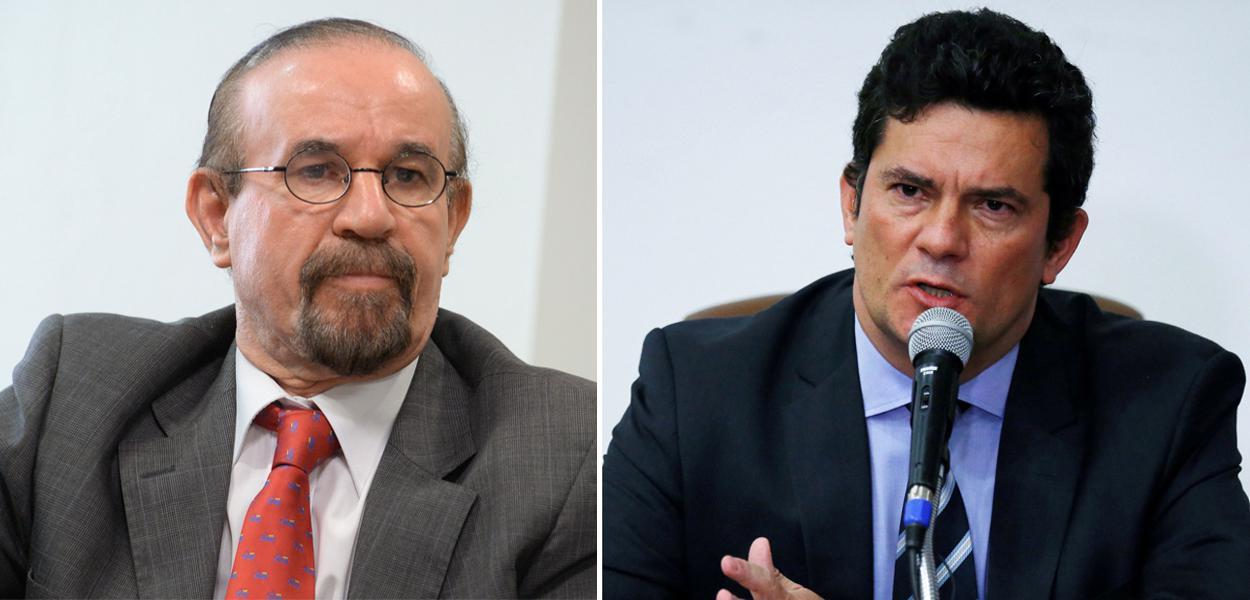 Advogado Cezar Bitencourt e Sergio Moro