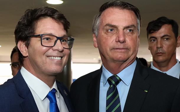 Mário Frias e Jair Bolsonaro