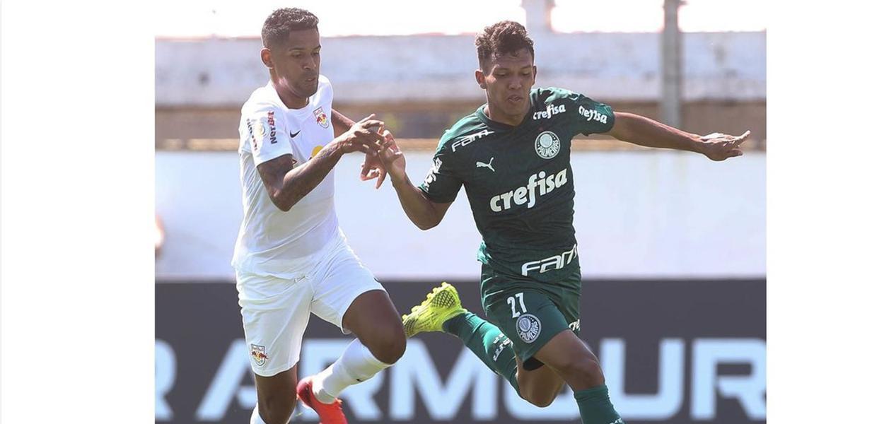 Palmeiras vence o Red Bull Bragantino
