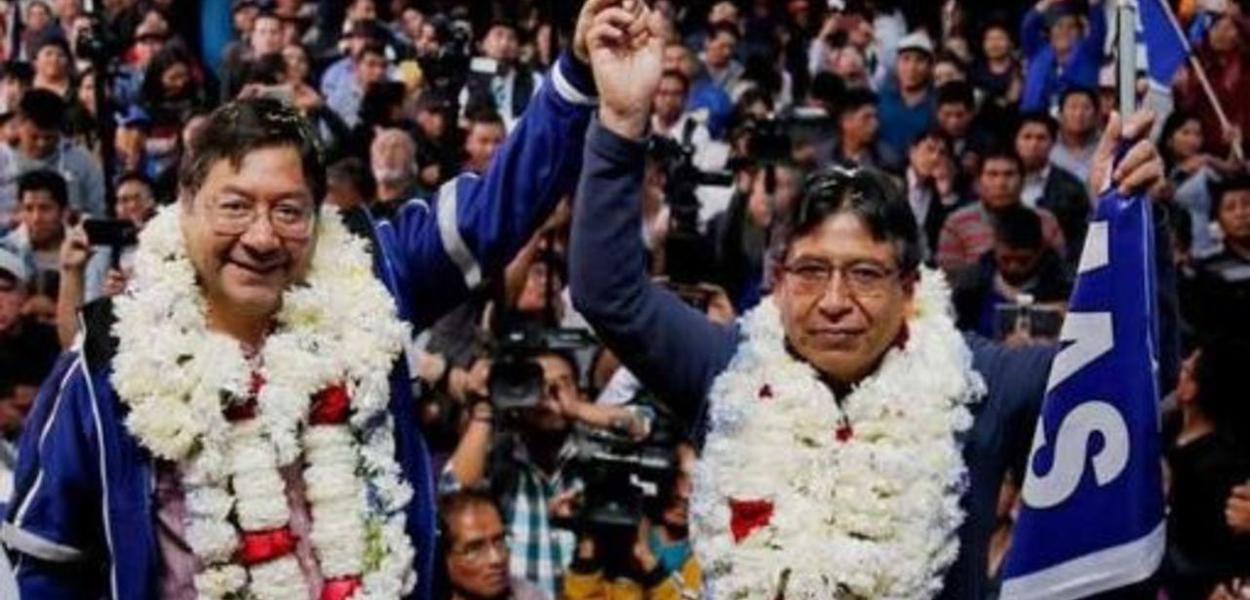 A chapa presidencial do MAS