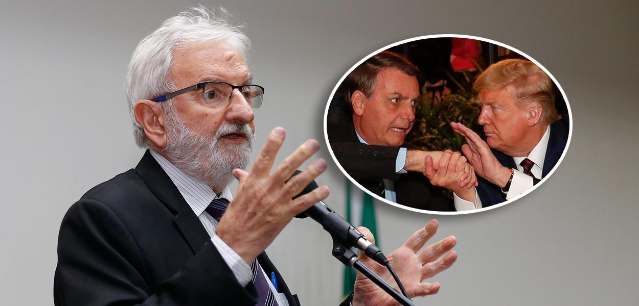 Ivan Valente, Bolsonaro e Donald Trump