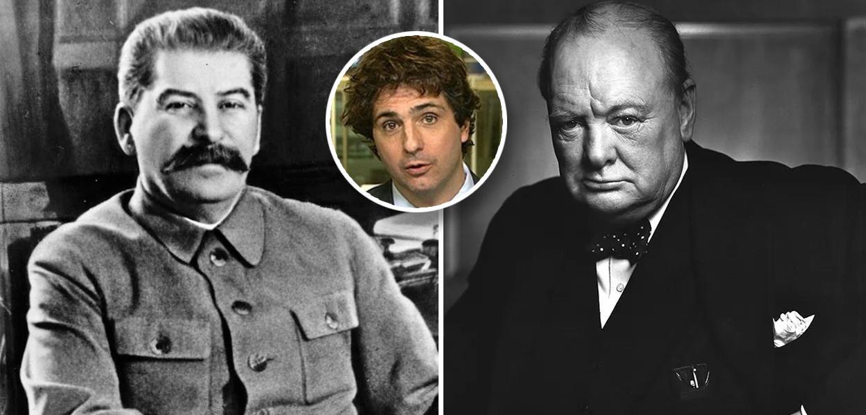 Stalin, Churchill / Guga Chacra