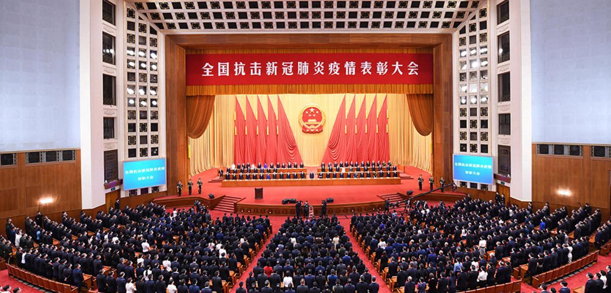Liderança da China se reúne para avaliar luta contra a Covid-19