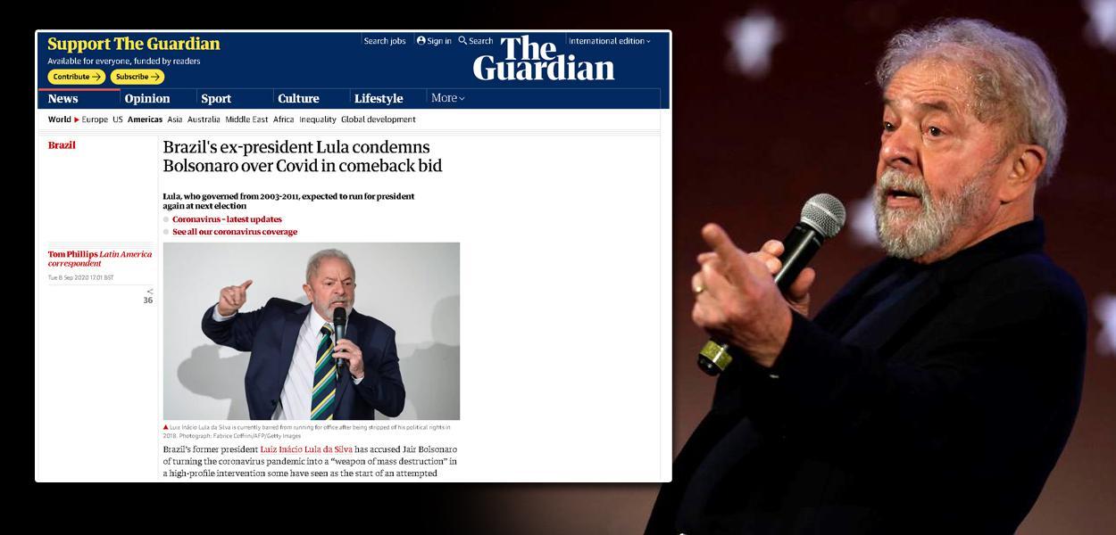The Guardian e Lula