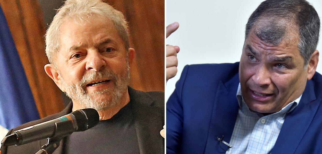 Lula e Rafael Correa