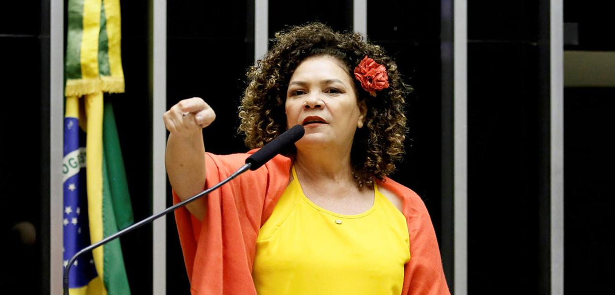Deputada Perpétua Almeida, líder do PCdoB na Câmara dos Deputados
