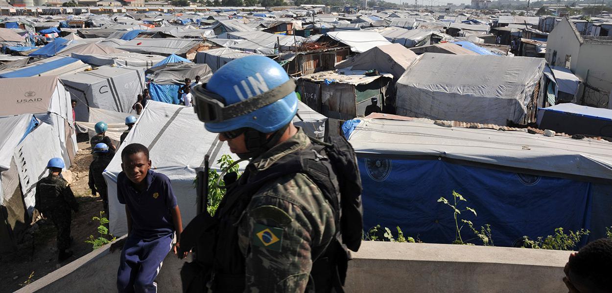 Missão das Nações Unidas para a estabilização no Haiti