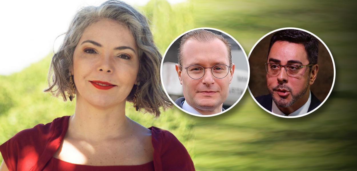 Liana Cirne Lins, Cristiano Zanin e Marcelo Bretas