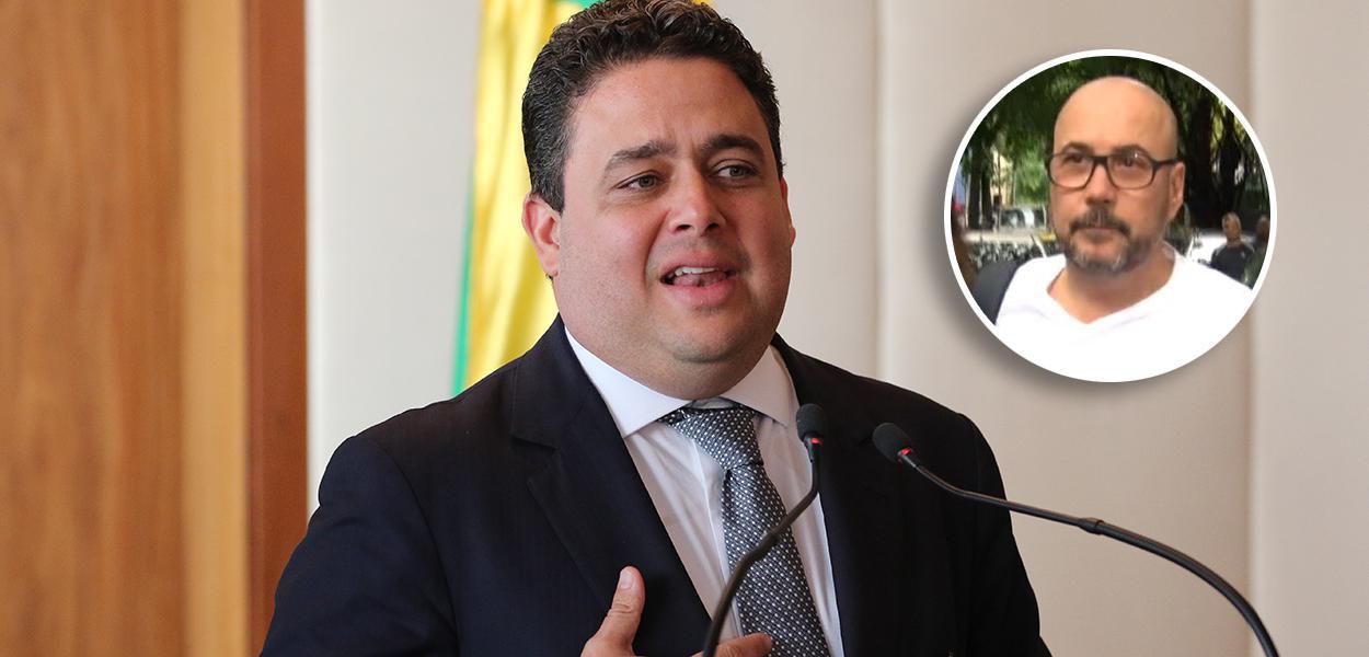 Felipe Santa Cruz e Orlando Diniz