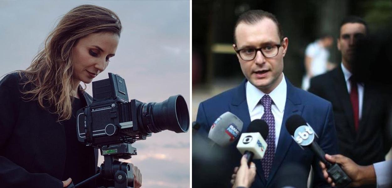 Petra Costas e Cristiano Zanin