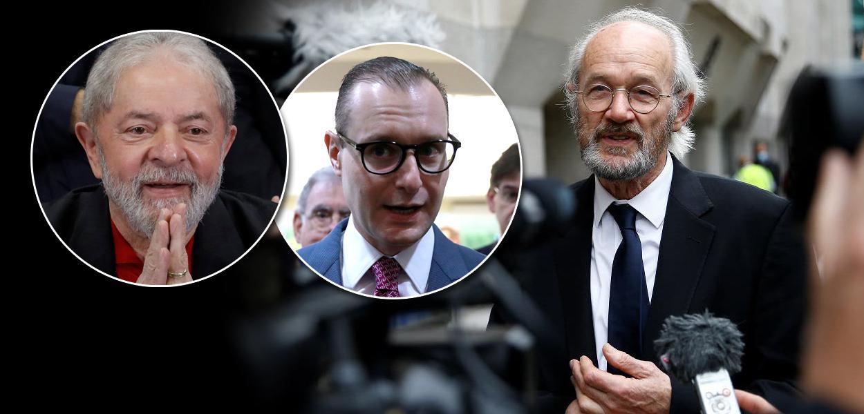 Lula, Cristiano Zanin e John Shipton