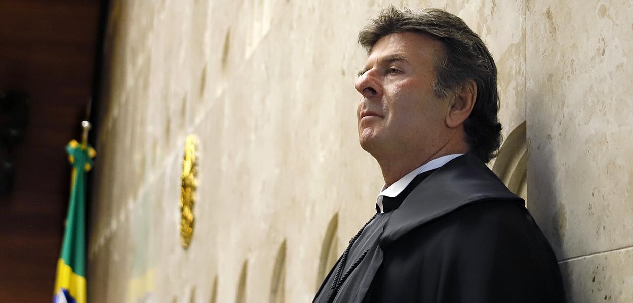 Sessão solene de posse do ministro Luiz Fux na Presidência do STF. (10/09/2020)