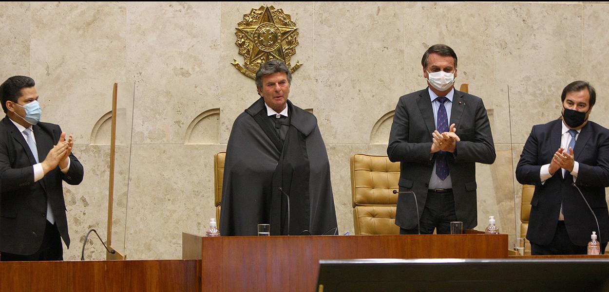 Sessão de posse do ministro Luiz Fux na presidência do STF. (10/09/2020)