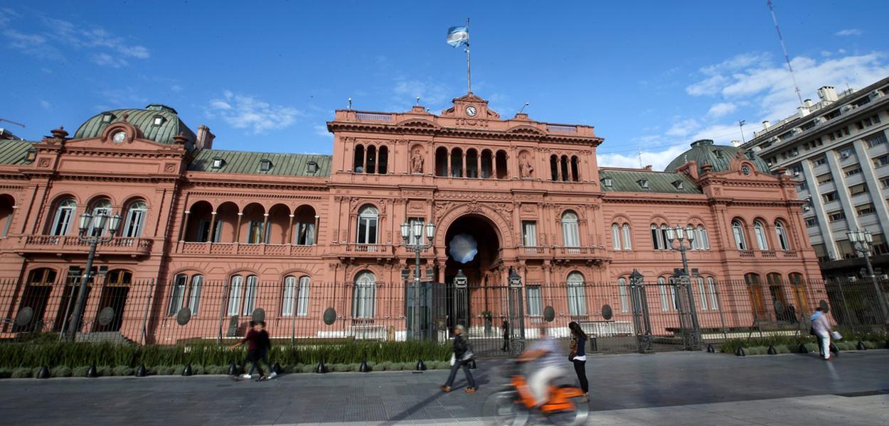 Casa Rosada, sede da presidência argentina