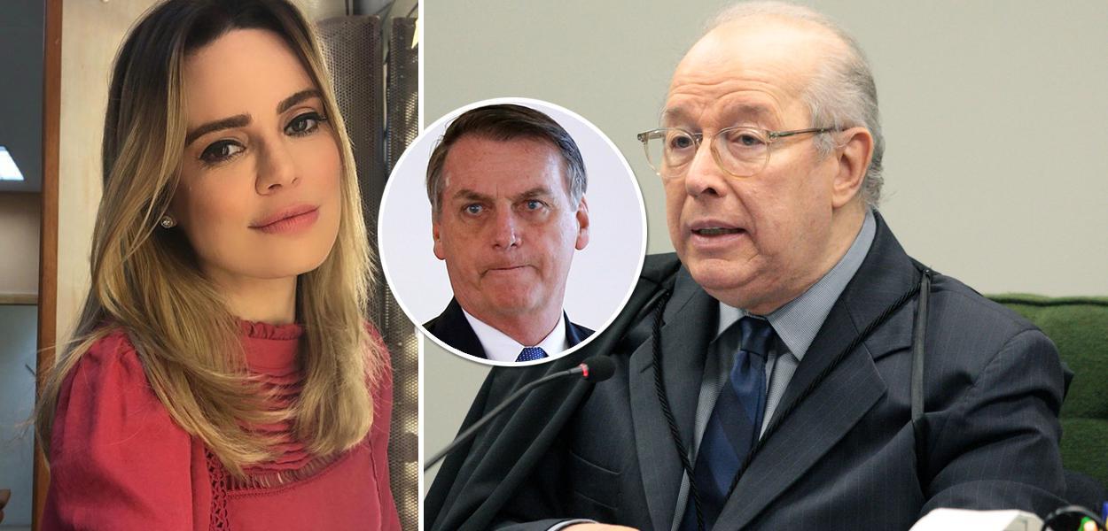 Rachel Sheherazade, Bolsonaro e Celso de Mello