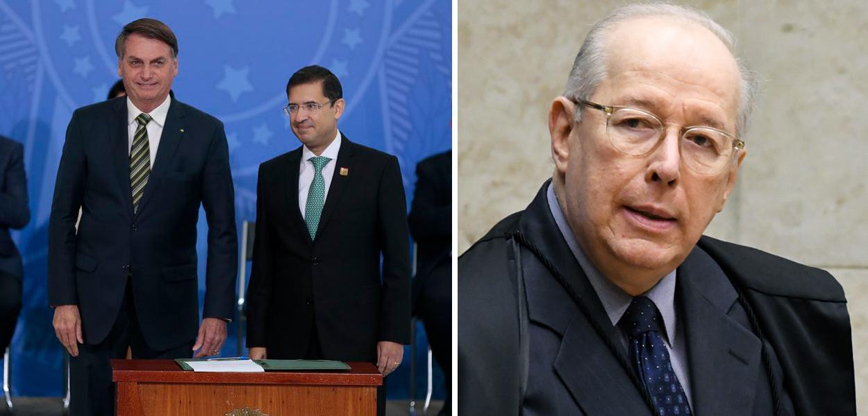 Jair Bolsonaro, José Levi Mello e Celso de Mello