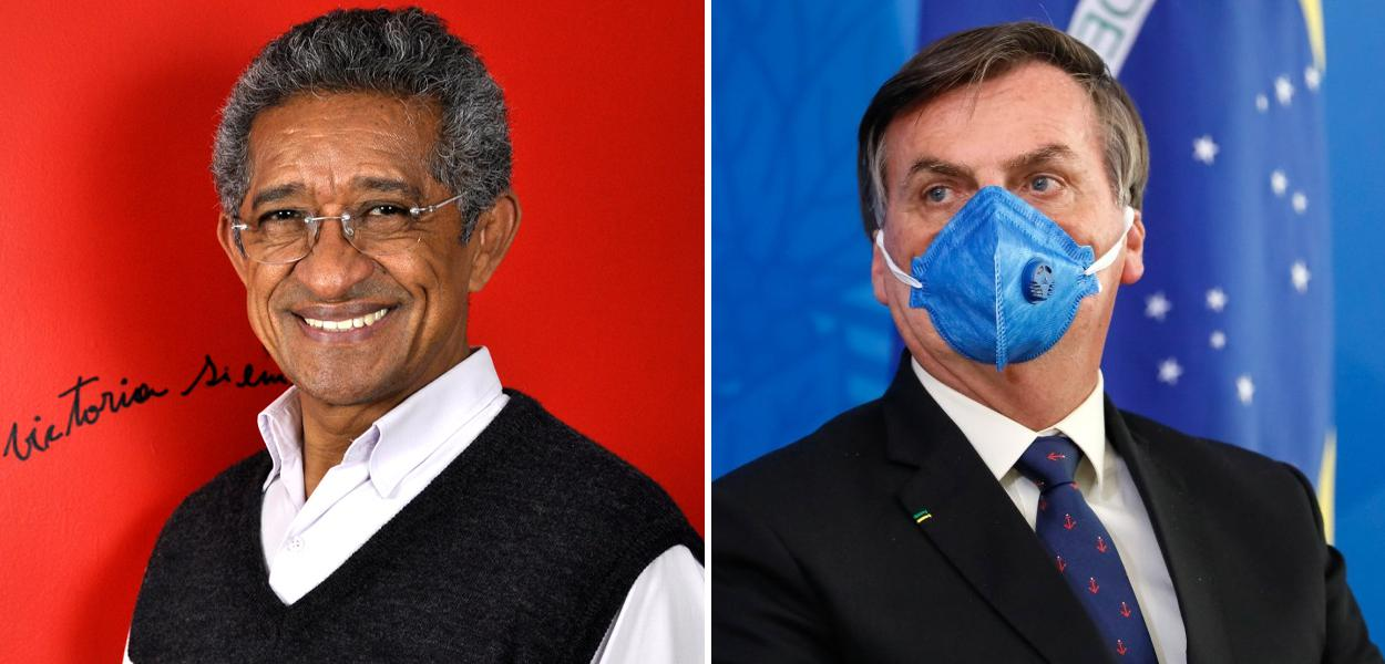 Vicentinho e Jair Bolsonaro