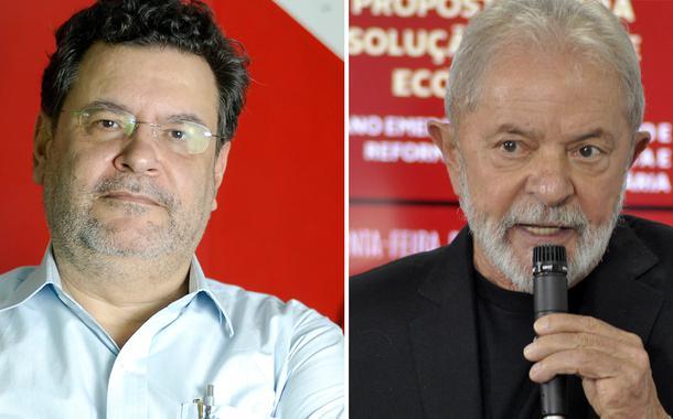 Rui Costa Pimenta e Lula