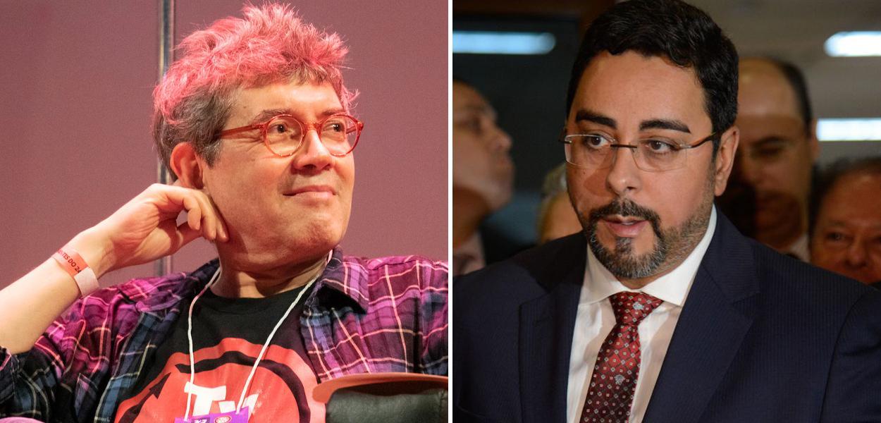 Renato Aroeira e Marcelo Bretas