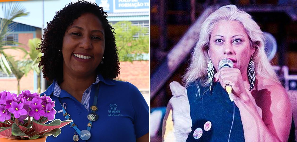 Vanessa Mulet e Indianarae Siqueira
