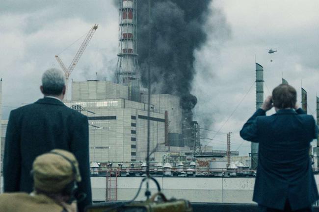 A explosão de Chernobyl