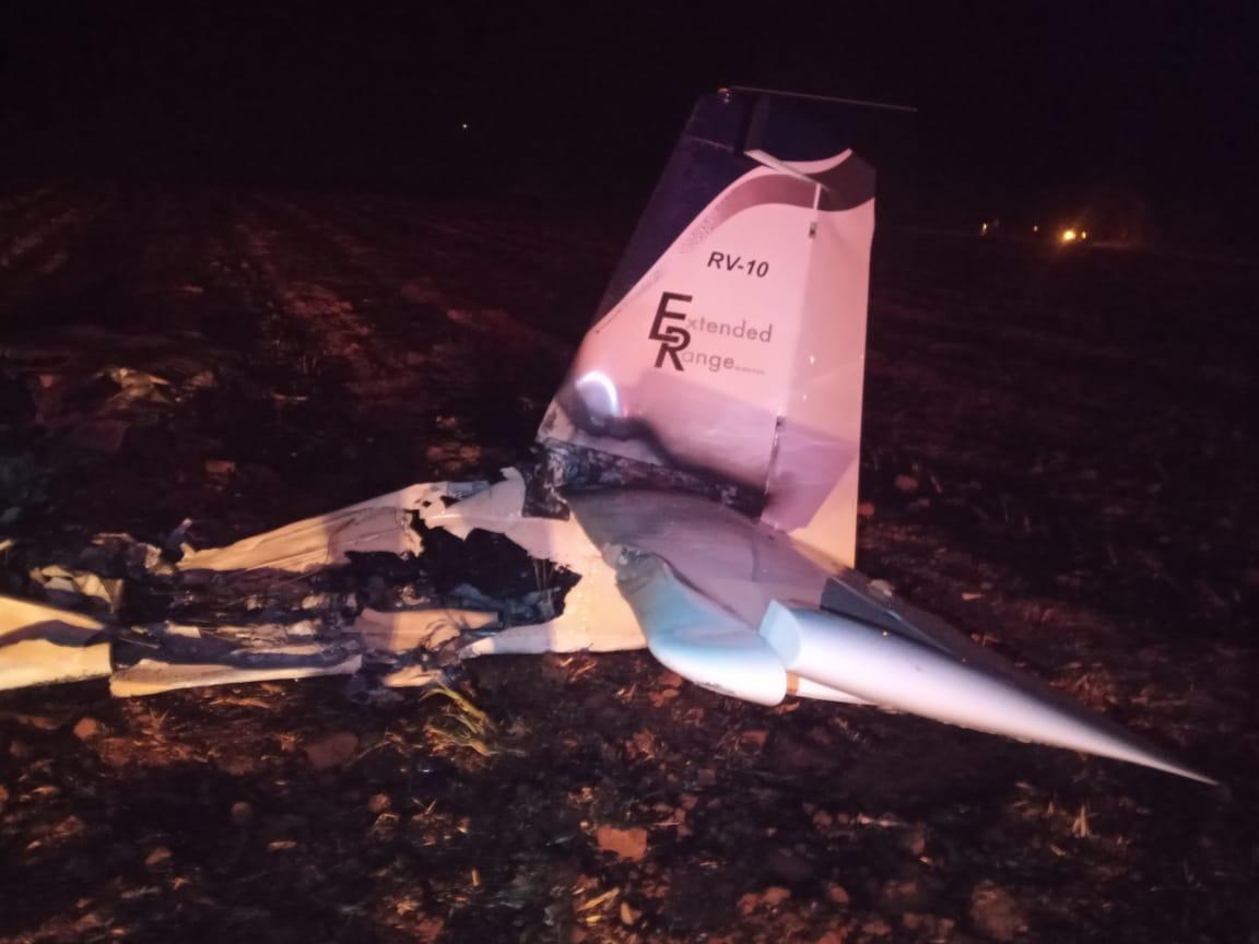 Avião quebrado