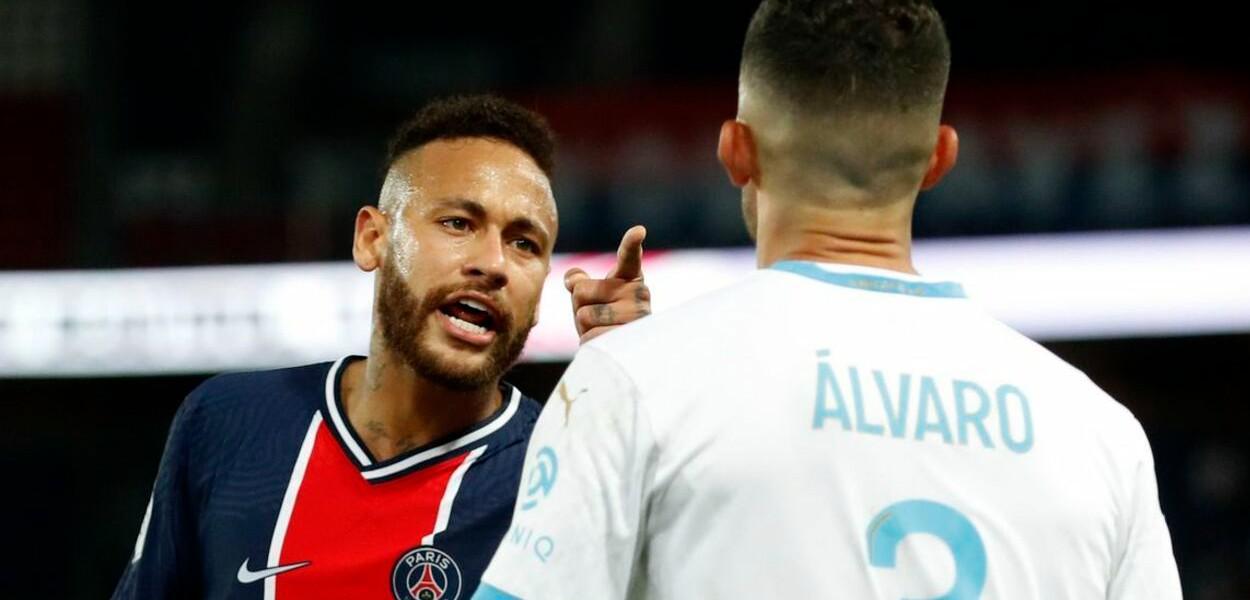 Neymar Jr. e Álvaro González