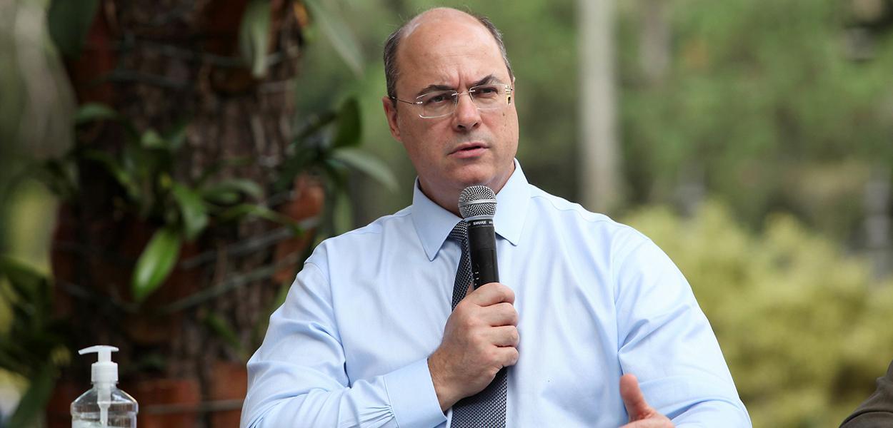 O governador do Rio de Janeiro, Wilson Witzel.