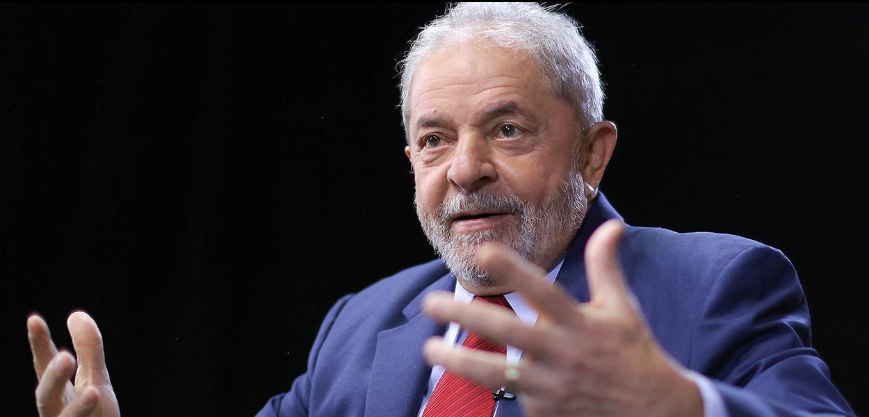 EX-presidente Lula durante entrevista a TVE.