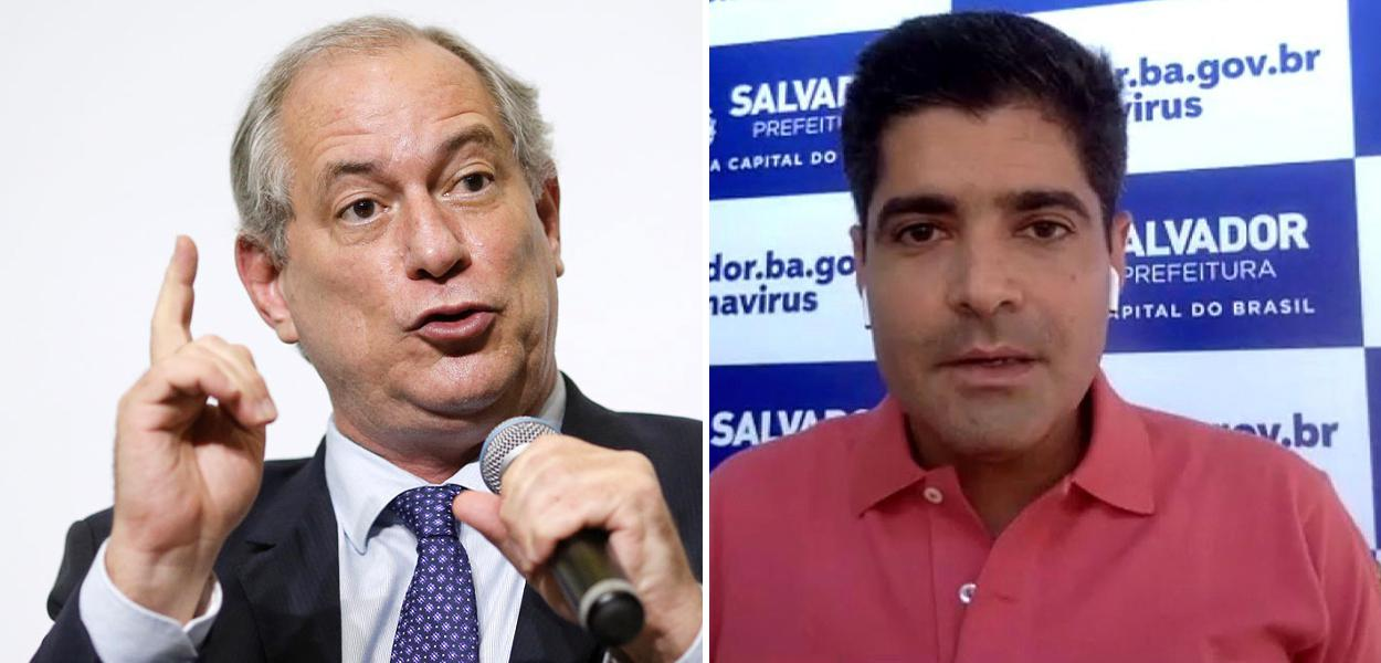 Ciro Gomes e ACM Neto