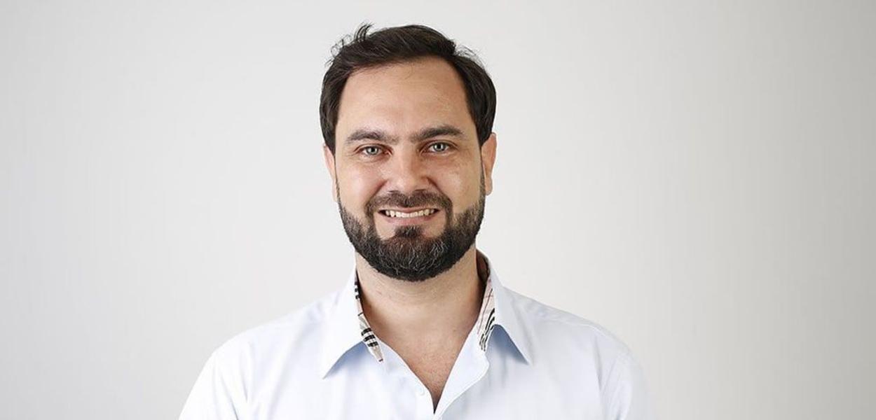 Rafael Primo é o candidato da REDE-Frente Progressista de Vila Velha (ES)