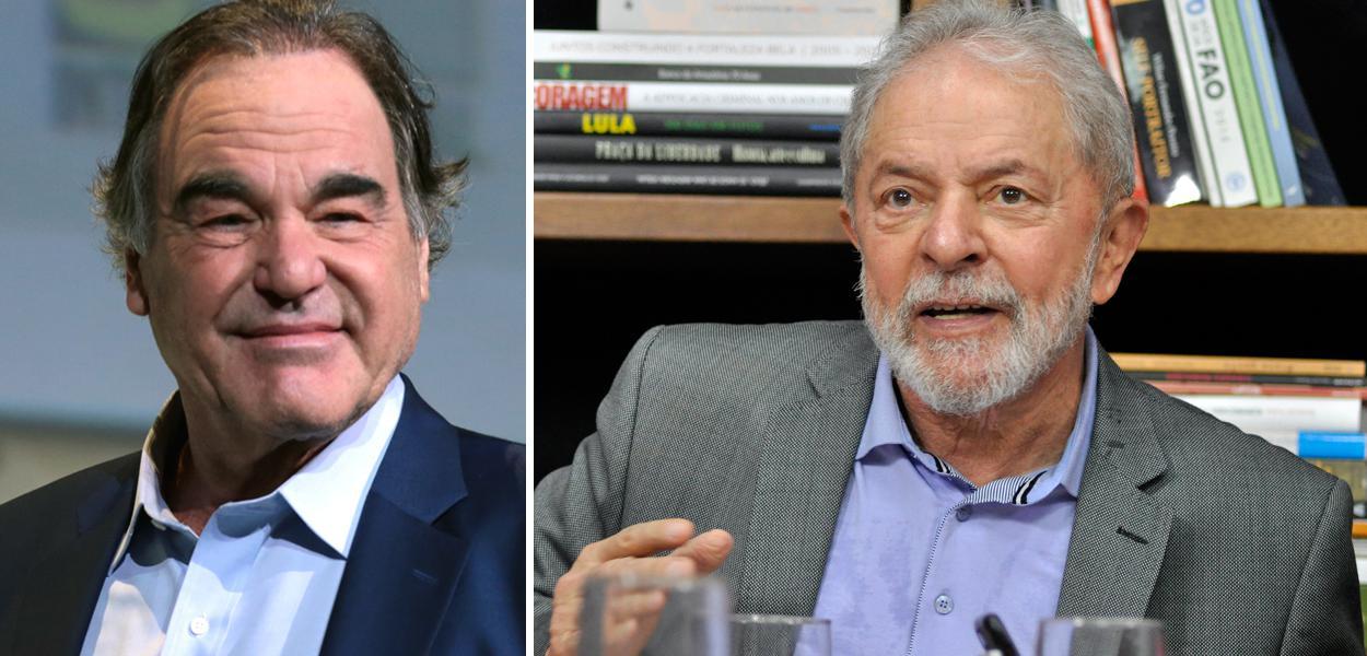 Oliver Stone e Lula