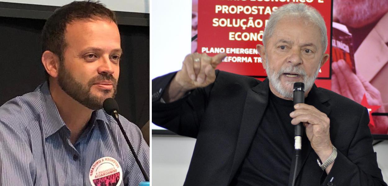 Wagner Romão e Lula