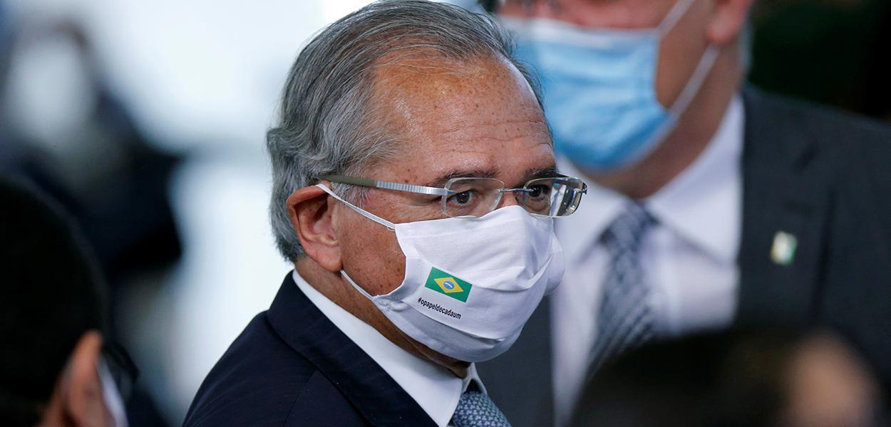 Ministro da Economia, Paulo Guedes.