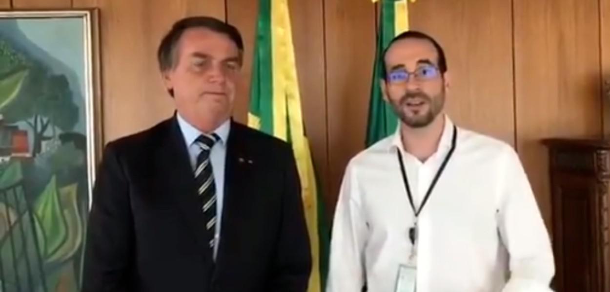 Jair Bolsonaro e Arthur Weintraub