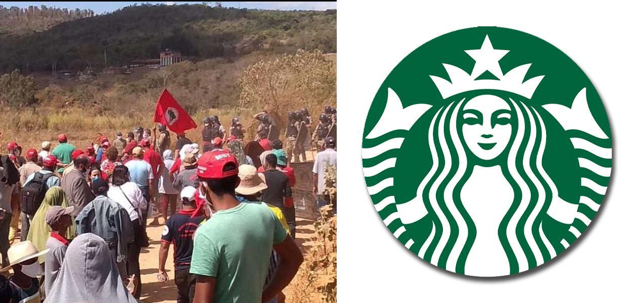 Despejo no Quilombo Campo Grande e Starbucks