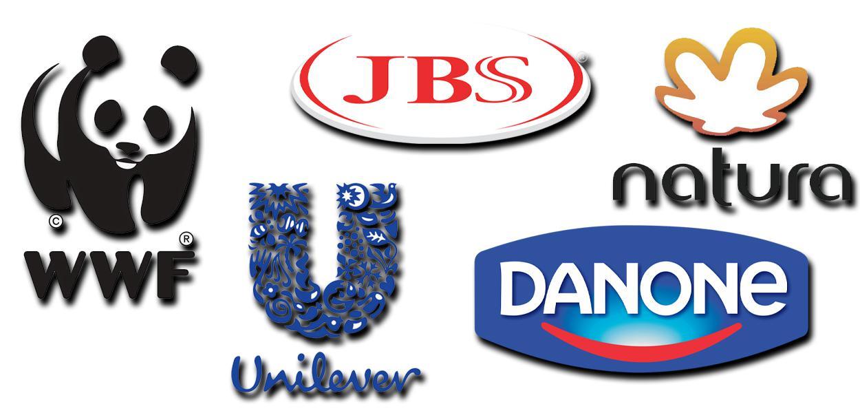 WWF, JBS, Natura, Unilever, Danone