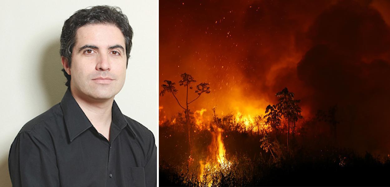 Bernardo Mello Franco e queimada no Pantanal