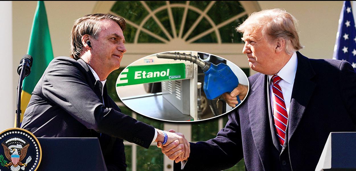 Jair Bolsonaro e Donald Trump