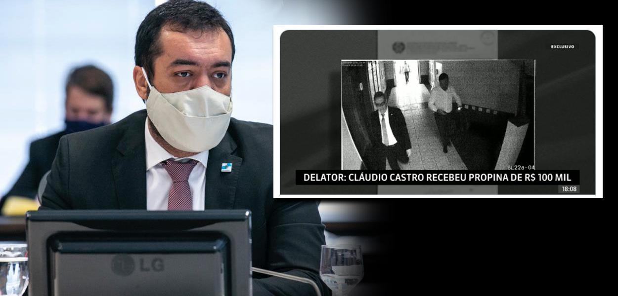 Claudio Castro é acusado de receber propina