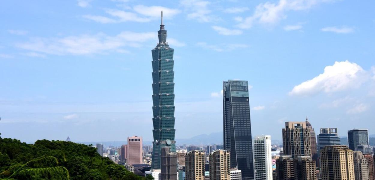 Taipé, capital de Taiwan