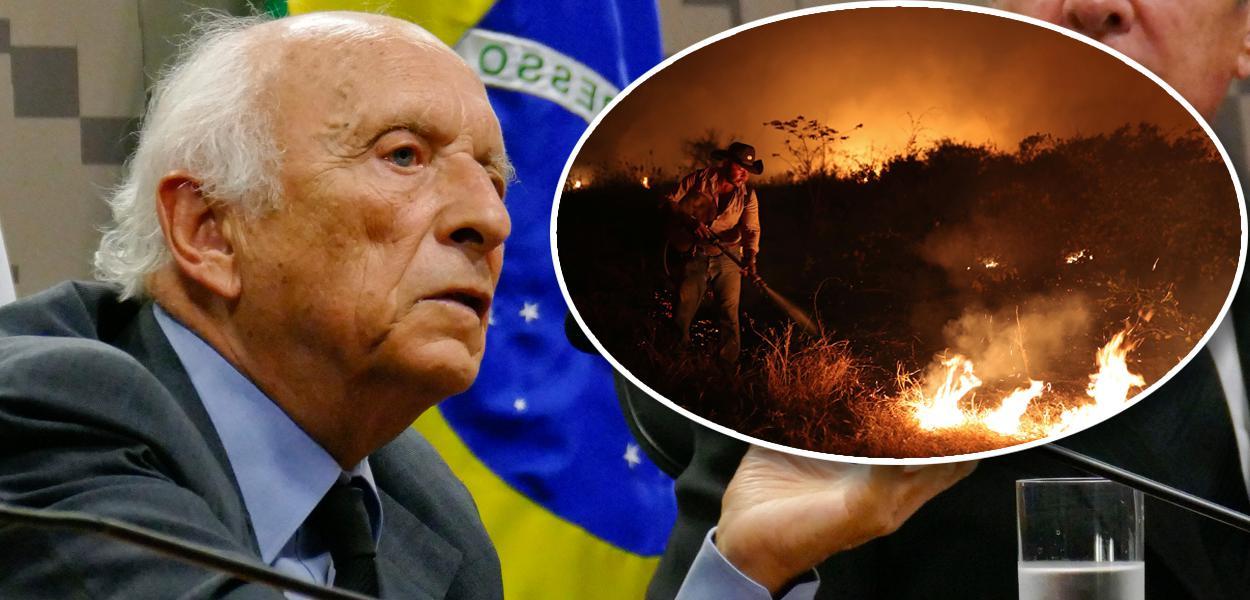 Rubens Ricupero e incêndio no Pantanal