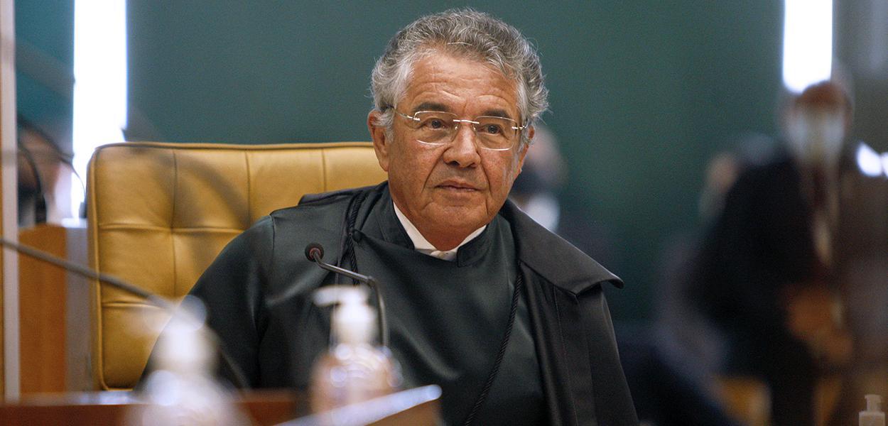 Ministro Marco Aurélio faz homenagem ao ministro Luiz Fux empossado na Presidência do STF. (10/09/2020)